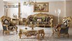 Set Ruang Tamu Desain Sofa Tamu super Klasik