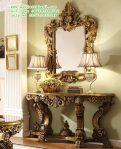 Desain Meja Konsul Klasik Ruang Tamu
