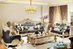 Set Sofa Tamu Ukir Klasik Model Desain Terbaru