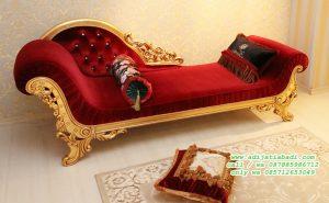 Sofa Klasik Gold Desain Mewah