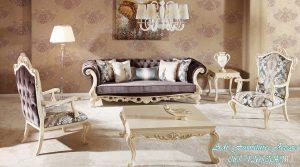 Set Ruang Tamu Mewah Moderen desain Italian Furniture