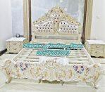 tempat tidur klasik, tempat tidur mewah, set tempat tidur klasik moderen, desain kamar tidur klasik