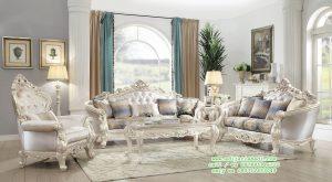 Desain Ruang Tamu Klasik, Kursi Sofa Tamu Model Ukir Mewah