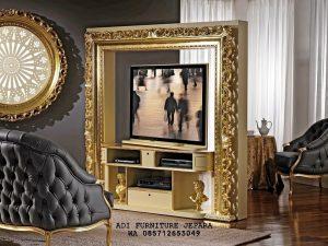Bufet Tv Klasik, Display Cabinet Tv Modern