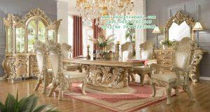 Set Kursi Makan Royal Mewah