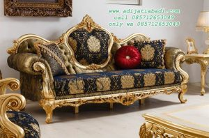 Bangku Sofa Ukiran Luxury