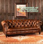 Bangku Sofa Winchester Leather