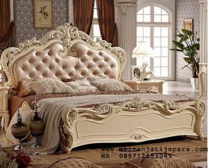 Tempat Tidur Ukiran Modern Duco