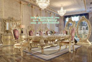 Kursi Makan Klasik Victorian Europe