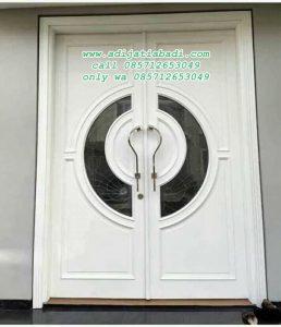 Pintu Rumah Modern Cat Putih
