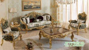 Set Ruang Tamu Klasik Sofia