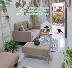 Sofa Tamu Minimalis Coklat