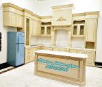 Kitchen Set Minimalis Moderen, Lemari dapur Bersih Desain mewah