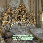 Tempat Tidur Klasik Mewah Moderen Model Terbaru