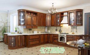 Kitchen Set full Desain Kayu Minimalis Moderen