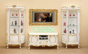 desain lemari TV klasik, set lemari tv ruang tamu, bufet TV klasik, Set lemari TV ruang makan, set almari TV, almari TV klasik