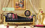Sofa Mewah, sofa klasik dengan meja bunga klasik