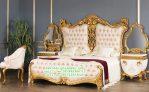 Tempat Tidur Antik Gold Klasik