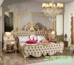 Tempat Tidur Desain Mewah Klasik