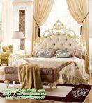 Tempat Tidur Ukir Klasik Model Desain Moderen
