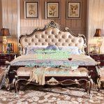 Tempat Tidur Ukir Klasik Mewah 2020