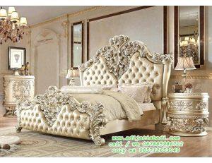 Tempat Tidur Ukir Klasik victoria Desain