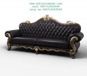 Bangku Sofa Ukiran 3d Leather