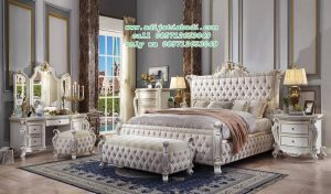 Set Kamar Tidur Antik Pearl