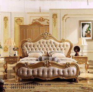 Tempat Tidur Ukiran Custom